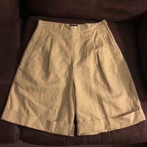 GAP high-waisted Bermuda khaki shorts